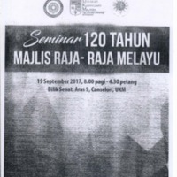 Cabaran Institusi Raja-Raja Melayu Dalam Zaman Pentadbiran British